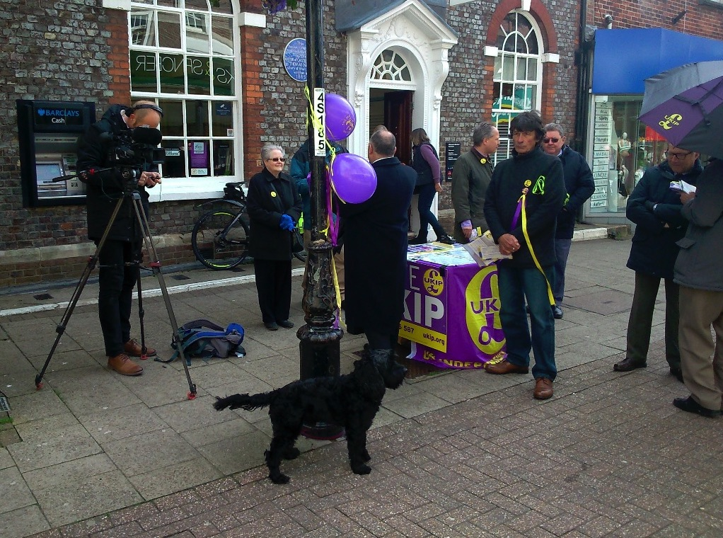 UKIP Action Day Dorchester 26-04-2016
