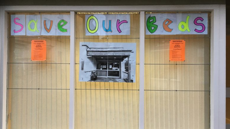 Save Our Beds Shop Front