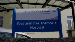 Westminster Memorial Hospital Sign