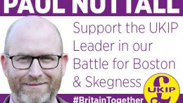 Boston and Skegness Paul Nuttall