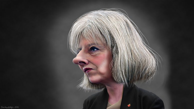 Theresa May by DonkeyHotey (CC BY 2.0)