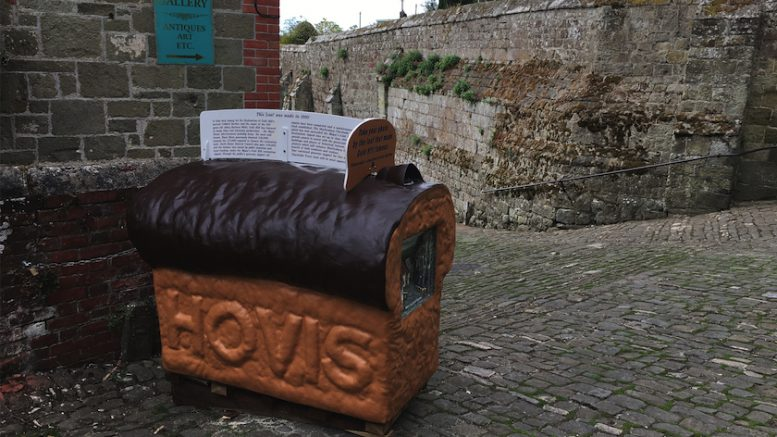 Hovis Loaf Gold Hill Shaftesbury Dorset